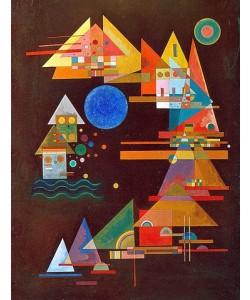 Wassily Kandinsky, Spitzen im Bogen. 1927