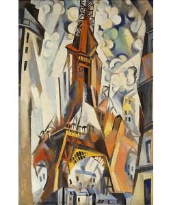 Robert Delaunay, Der Eiffelturm. 1910.