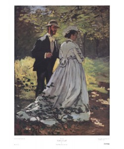 Claude Monet, Bazille and Camille