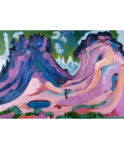 Ernst Ludwig Kirchner, Amselfluh. 1922
