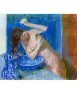 Edgar Degas, Junge Frau bei ihrer Toilette. Um 1892