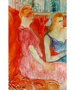 Henri de Toulouse-Lautrec, Im Salon der Rue des Moulins. 1894.