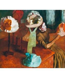 Edgar Degas, Die Modistin. Um 1885