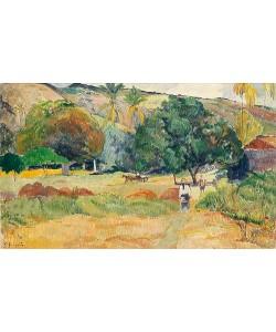 Paul Gauguin, Bauerngarten (Landschaft auf Tahiti). 1892