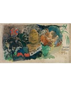 Paul Gauguin, Musique Barbare. Um 1892.