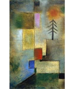 Paul Klee, Kleines Tannenbild. 1922