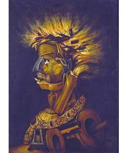Giuseppe Arcimboldo, Allegorie des Feuers.