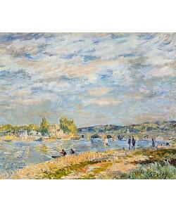 Alfred Sisley, Die Brücke bei Sevres. 1877