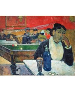 Paul Gauguin, Im Café in Arles (Madame Ginoux).