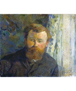Paul Gauguin, Bildnis des Malers Achille Granchi-Taylor. 1885