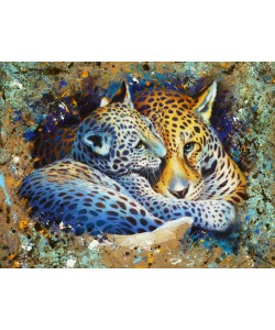 Jean-Marc Chamard, Panther with cub 01