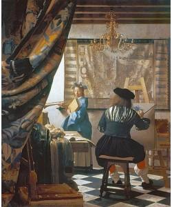 Jan Vermeer van Delft, Die Malkunst. Um 1666/68