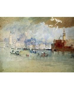 Joseph Mallord William Turner, Venedig, von der Lagune aus gesehen.