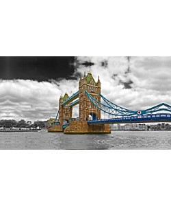 George Fossey, COLOURED TOWER BRIDGE