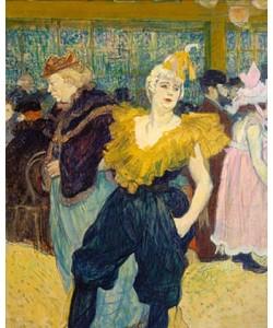 Henri de Toulouse-Lautrec, La Clownesse. 1895