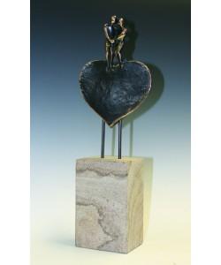 Raimund Schmelter, Liebende, 32 x 11 x 6cm