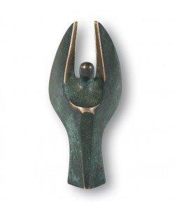 Kött-Gärtner, Mini-Engel Bronze 7,5cm, 7,5cm