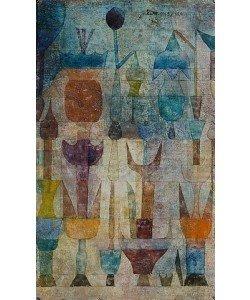 Paul Klee, Pflanzen früh am Morgen. 1922