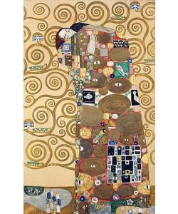 Gustav Klimt, Die Erfüllung Um 1909.  Werkvorlage zum Stocletfries.