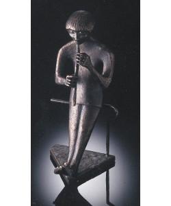 Raimund Schmelter, Der Flötenspieler, 28cm