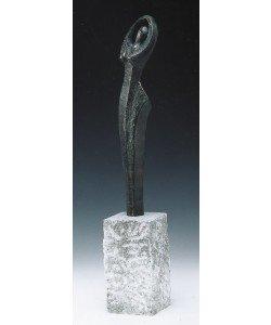 Rosa Gillissen, Grazie III - Die Glückliche, 64cm (incl. 20cm Sockel)