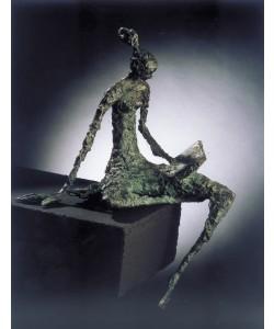 Luise Kött-Gärtner, Lesende, 45 x 34cm