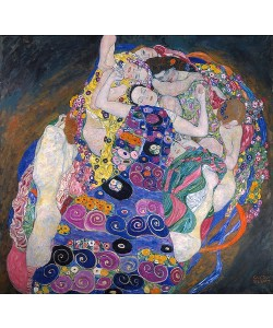 Gustav Klimt, Die Jungfrau. 1913