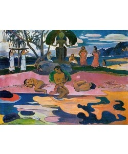 Paul Gauguin, MAHANA NO ATUA (Gottestag).