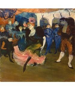 Henri de Toulouse-Lautrec, Marcelle Lender tanzt den Bolero aus Chilpéric. 1896.