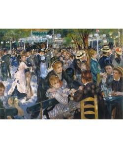 Auguste Renoir, Ball im Restaurant Moulin de la Galette auf dem Montmartre. 1876