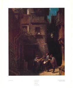 Carl Spitzweg, Nachtständchen 166