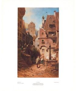Carl Spitzweg, Hochzeiterbrunnen 237