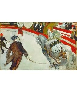 Henri de Toulouse-Lautrec, Die Zirkusreiterin im Zirkus Fernando. 1887/88