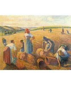 Camille Pissarro, Die Ährensammlerinnen. 1889