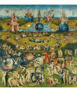 Hieronymus Bosch, Der Garten der Lüste. Mitteltafel des Triptychons.
