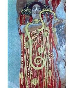 Gustav Klimt, Hygieia. Detail aus der Medizin. 1900/1907