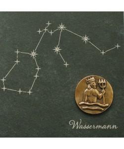 Wassermann, 14,5 x 14,5cm