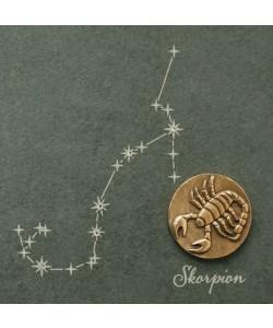 Skorpion, 14,5 x 14,5cm