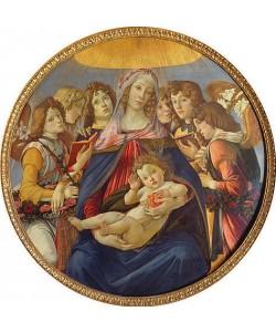 Sandro Botticelli, Madonna della Melagrana.