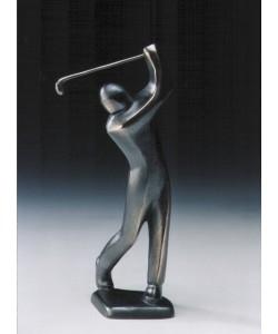 Jutta Römhild, Golfer, abschlagend, 23cm