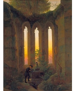 Caspar David Friedrich, Huttens Grab. 1824