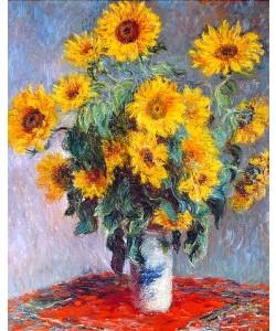 Claude Monet, Sonnenblumen. 1880