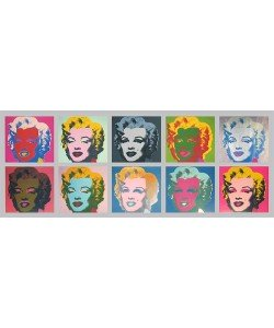 Andy Warhol, Marilyn Monroe Tableau