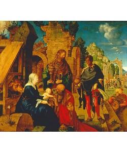 Albrecht Dürer, Die Anbetung der Könige. 1504