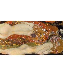 Gustav Klimt, Wasserschlangen II. (Freundinnen) 1904/07