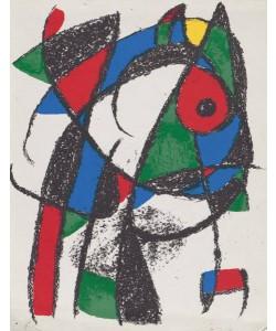 Miro Joan Volume 2 Blatt 1 unsigniert (Lithog.Buchauflage)