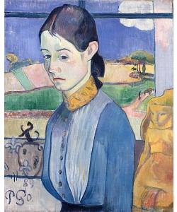 Paul Gauguin, Junge Bretonin. 1889.