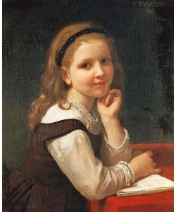 William Adolphe Bouguereau, Ein gutes Buch. 1868.