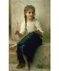 William Adolphe Bouguereau, Kleine Näherin. 1898.