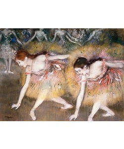 Edgar Degas, Sich verbeugende Ballerinen. 1885
